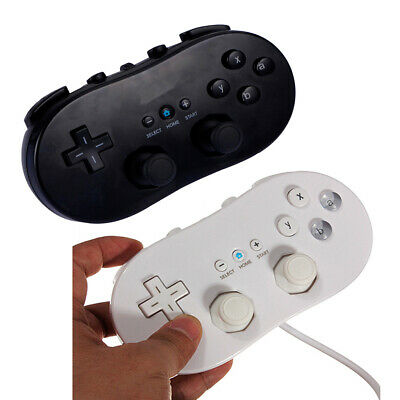 2x / 1x Classic Controller Pro Game Gamepad For Wii / Wii U Remote