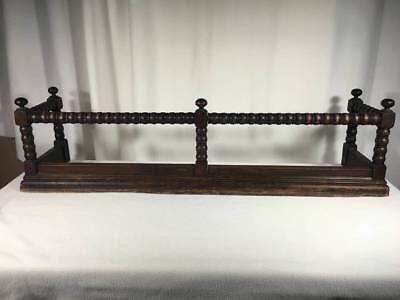 """Fireplace Fender Dark Oak Antique 45""""x 10.5""""x 11.5"""" Rustic Local Pick Up Only"""