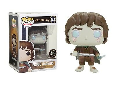 Funko Pop Movies: The Lord of the Rings - Frodo Baggins Chase Limited Edition