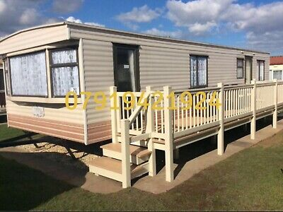 Caravan to rent hire let in coastfields Ingoldmells.