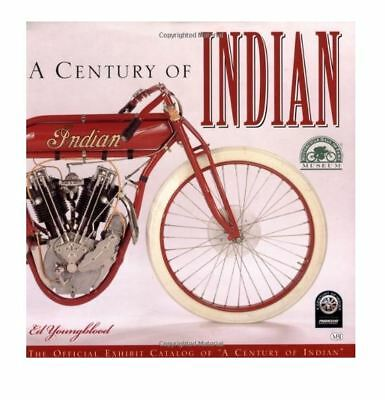Century Indian Motorcycle Youngblood New Hardback Dj Book Manual Restoration