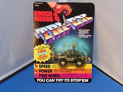 1984 LJN Rough Riders 4X4 Midnight Rider Toy Mint On Unpunched Card! Stompers