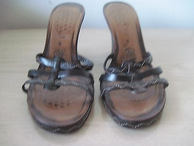Vero Cuoio Made in Italy for NINE WEST Slippers SZ 6