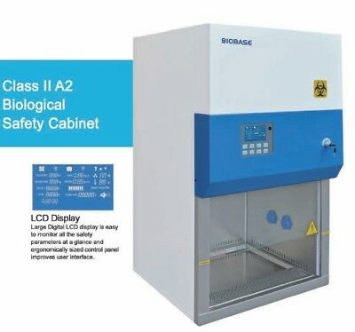 Biobase Biological Safety Cabinet Class II A2 with stand - Brand New! 110V 60 Hz