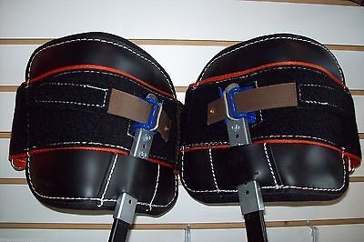 Replacement Pads For Buckingham Climbing Spurs,Hydra Cool w/straps 1.8 Lbs Ea