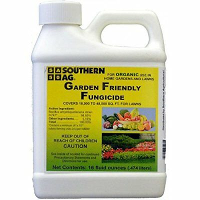 NEW Southern Ag Garden Friendly Biological Fungicide16oz  1 Pint FREE SHIPPING