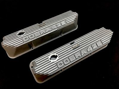 Ford FE, Mustang, Cobra, Torino, Fairlane & Lincoln Cobra 428 Valve Covers