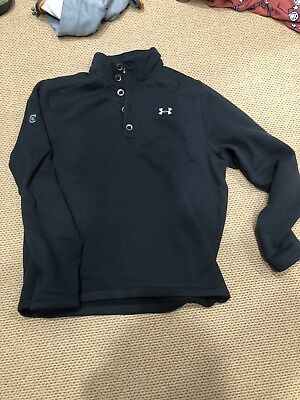 New Mens Under Armour Ua Water Repellent Fleece Specialist Storm Sweater Xl