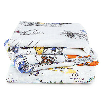Winnie The Pooh 3-Pack Disney Baby Muslin Squares  Aden + Anais