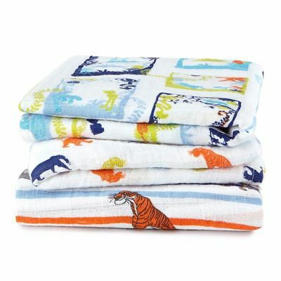 Aden + Anais Jungle Book Disney Baby Muslin Squares 3-pack Aden + Anais