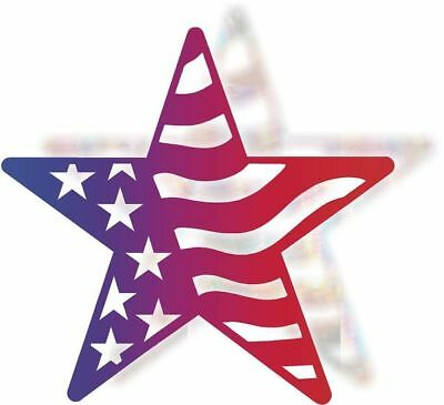 DXF CNC dxf for Plasma Router Vector USA Star Man Cave Home