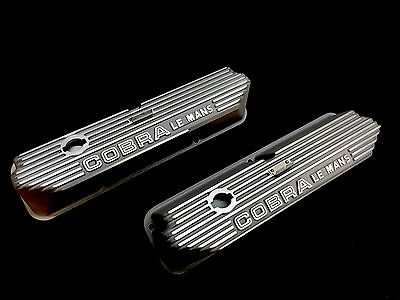"Ford FE, Mustang, Cobra, Torino, Fairlane & Lincoln ""Cobra Le Mans"" Valve Covers"