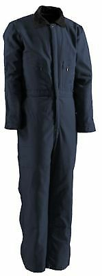 Berne Deluxe Insulated Coverall Size 2XL Tall (Navy)