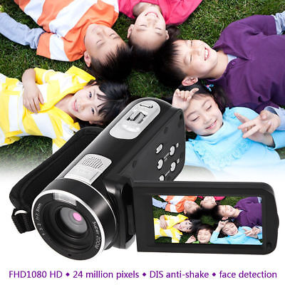 HD 1080P 16X Zoom LCD Night Vision Digital Video Recorder DV Camera Camcorder HS