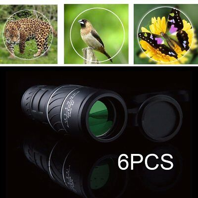 6 PCS 40x60 HD Optical Monocular Telescope for Hunting Camping Hiking Travel HS
