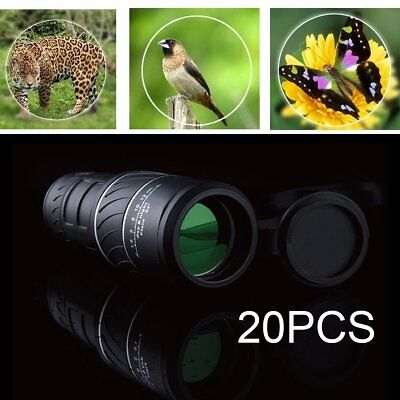 20 LOT HandHeld Portable 40x 60 HD Adjustable Zoom Monocular Telescope Hiking HS
