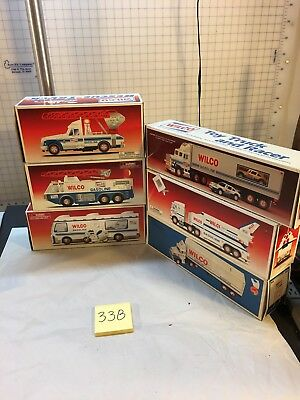 LOT of 6 Wilco Space Shuttle, Fire Truck, Transporters Mixed Years Free Shipping