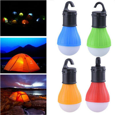 3W Outdoor Hanging 3 LEDs Camping Lamp Tent Emergency Night Light Bulb