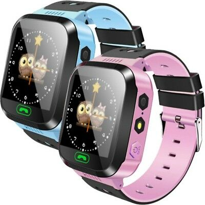 AU Kid Anti Lost GPS Touch Smartwatch Phone SIM Card SOS Call Baby Wrist Watches