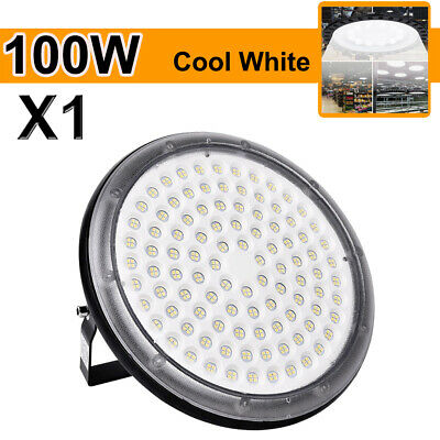 100W LED High Bay Light Commercial Warehouse Industrial Factory Shop Fixtures US