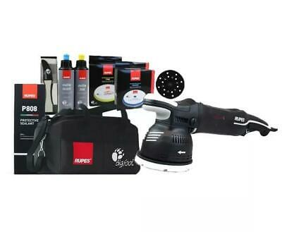 Rupes Bigfoot Mille LK900E/DLX Gear Driven Dual Action Polisher Deluxe Kit