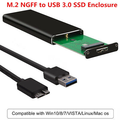 M.2 NGFF to USB 3.0 SSD Adapter Converter Enclosure For  MacBook 6G AM