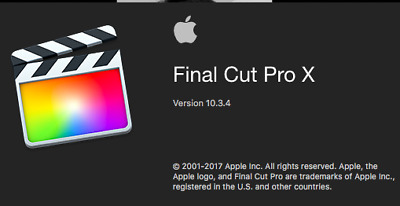Final Cut Pro X 10.3.4 - Apple Pro Editing Software for Video 100% GUARANTEED