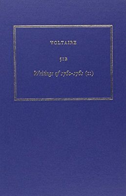 Œuvres complètes de Voltaire, tome 51B : Writings of 1760-1761 (II) (Voltaire)