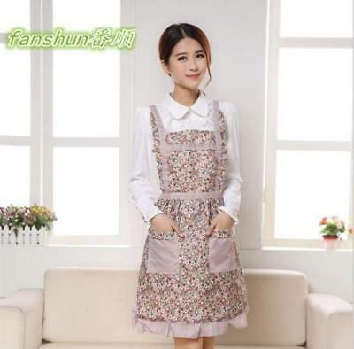 """Aprons for Womens Housewife Floral Cook Restaurant Chef Kitchen"""""""