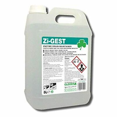 Clover Zi-Gest Enzyme Drain Maintainer (2x5ltr) - 470