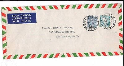 Ireland Long Envelope 1946 To Usa From Gaeltarra Eireann Of Dublin