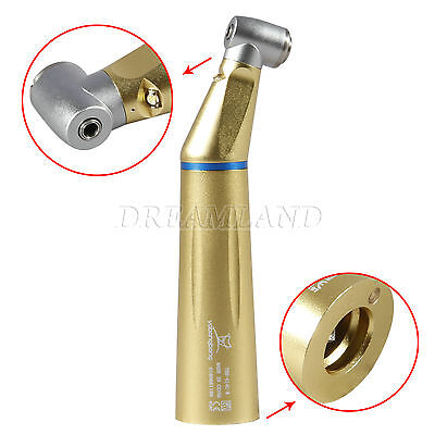 Dental Slow Low Speed LED Fiber Optic Contra Angle Handpiece Inner Water S_1S