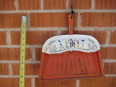 Vintage *** J.V. REED *** Metal Dust Pan Louisville Kentucky USA