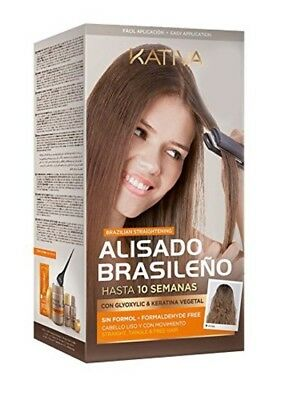 Kativa Keratin And Argan Oil Brazilian Straightening Kit