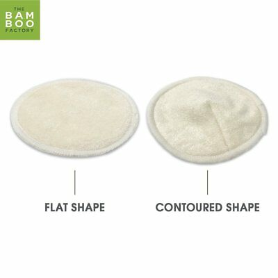 Bamboo Nursing Pads Organic Hypoallergenic Leak Proof Breast Feeding Washable