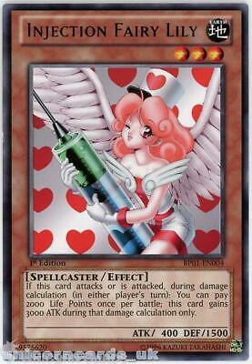 BP01-EN004 Injection Fairy Lily Rare 1st Edition Mint YuGiOh Card