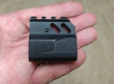 Brand new low aluminum gas block. 0.750 made in USA