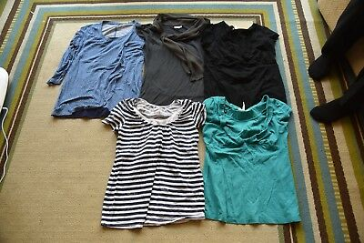 Lot of Nursing Tops size XS Small Old navy Pea in the Pod Motherhood Maternity