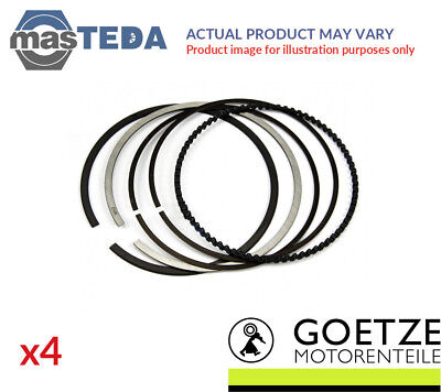 4x NEW ENGINE PISTON RING SET GOETZE ENGINE 08-207600-00 I STD OE REPLACEMENT
