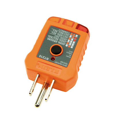 NEW - Klein Tools RT210 GFCI Receptacle Tester