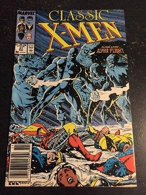 Classic X-men#27 Incredible Condition 9.0(1988) Byrne Art, Alpha Flight!!