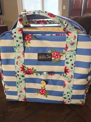 NWOT Matilda Jane MJC Cooler Keeping It Cool Insulated Bag Floral