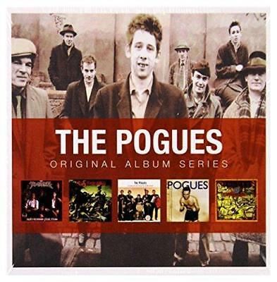 THE POGUES - 5CD ORIGINAL ALBUM SERIES (NEW & SEALED) Inc Peace And Love