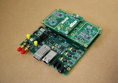 USRP N210 BOARD Plus WBX (or SBX) Daughterboard (40MHz)