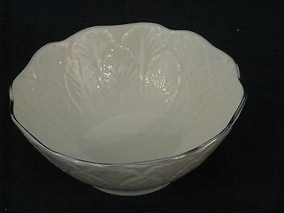 Lenox China: Special Round Candy/Nut/Mint Dish Silver Accent 4.5 inches wide
