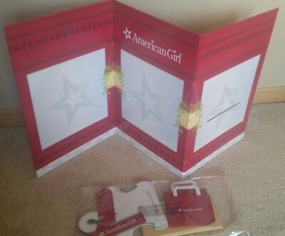 American Girl Boutique Store Dressing Room 2 Sided Background Scene New in Box