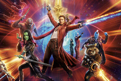 New Guardians Of The Galaxy Movie Marvel Comic Poster 14x21 24x36 Art Gift X1139