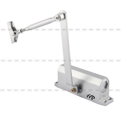 US 45-65KG Aluminum Commercial Two Independent Valves Door Closer Control Home