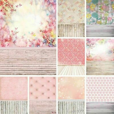 US 5x7ft Retro Flora Photography Backdrop Photo Background Party Home Decors 3x5