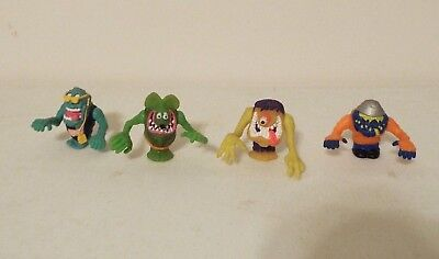 Rat Fink Rad Rods Lot Of 4 Figures ONLY Kenner 1990 Big Daddy Ed Roth Rare
